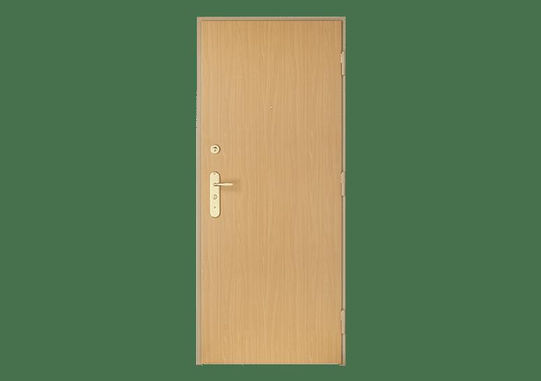 Porte blindée Fichet Foxeo S avec panneau bois