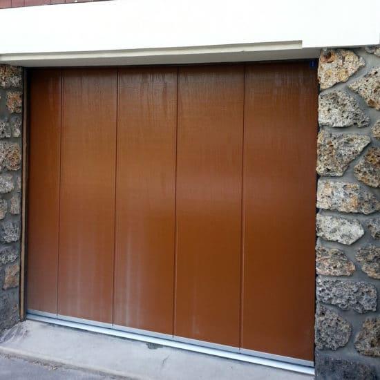 Porte de garage sectionnelle latérale Hörmann