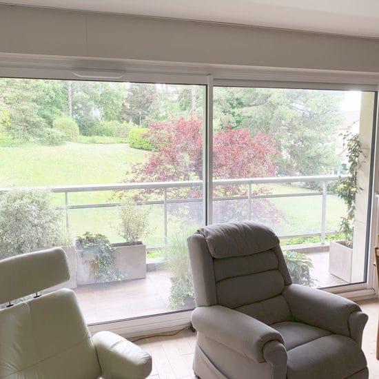 Fenêtre aluminium coulissante Sybaie