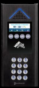Interphone sans fil GSM 4G noire mate