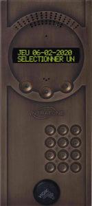 Interphone GSM 4G Intratone bronze
