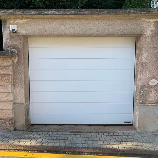 Porte de garage sectionnelle Hörmann à rainures M