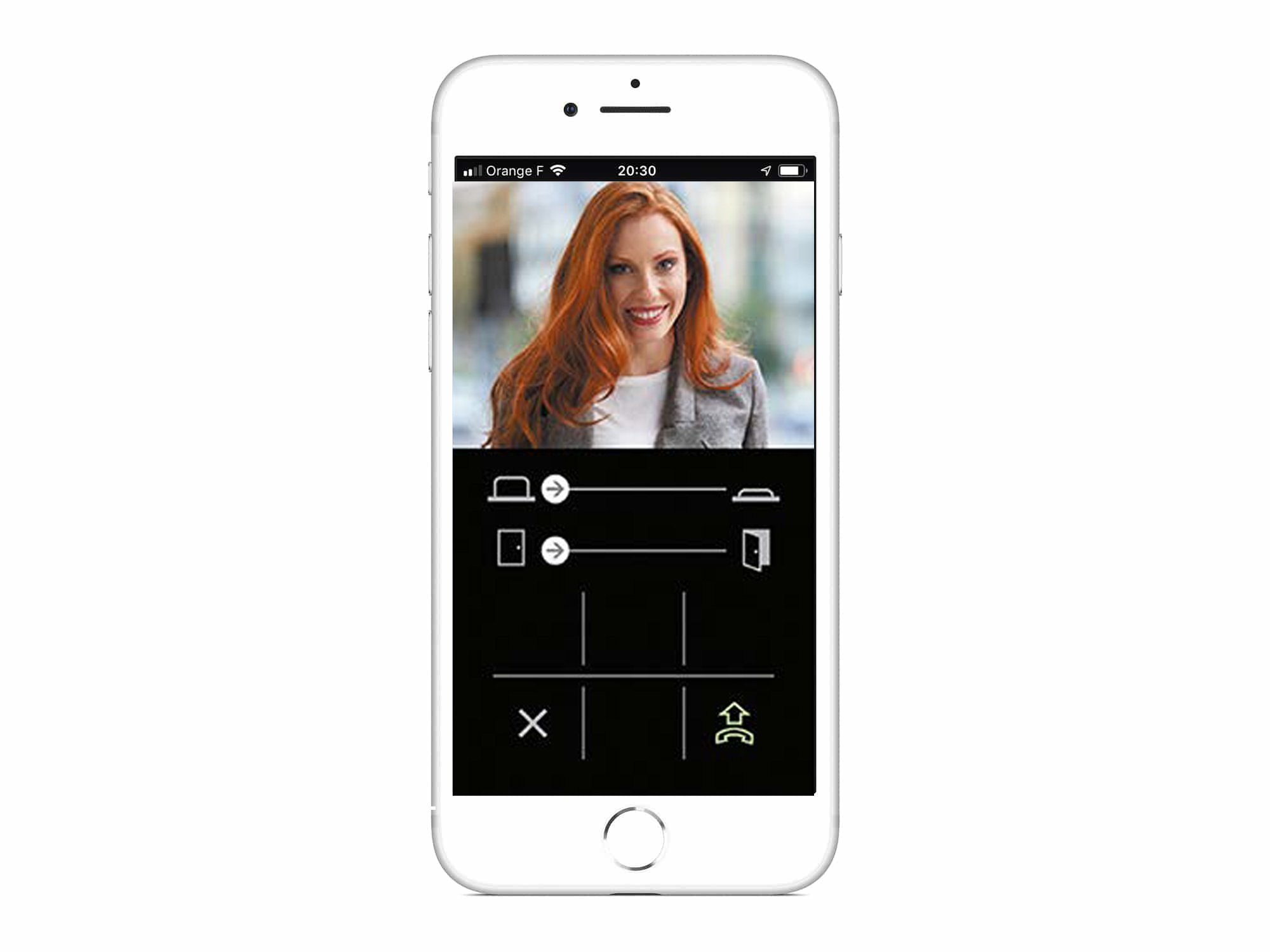 Application smartphone Aiphone